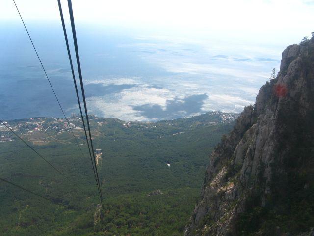 Zdjęcia: Krym, Widok ze szczytu Aj-Petri, UKRAINA