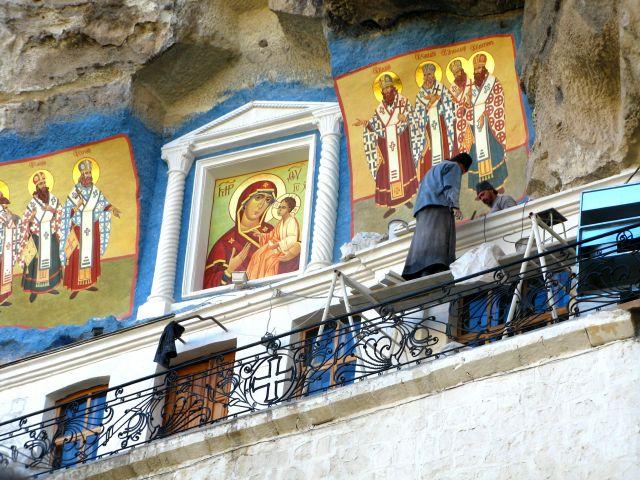 Zdjęcia: Krym, Uspieński Monastyr, UKRAINA