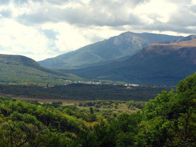 Zdjęcia: Krym/Przełęcz Angarska w drodze do Jaskini Emine-Bair-Chosar, Przełęcz Angarska , UKRAINA