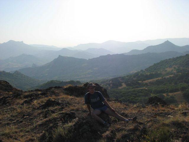 Zdj�cia: rezerwat Kara Dag, Autonomiczna Republika Krymska, w�dr�wka, UKRAINA