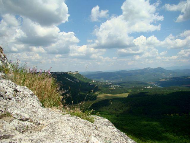 Zdjęcia: Twierdza Mangup Kale, Krym, Takie są widoki z Mangup, UKRAINA