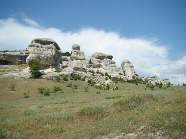 Zdjęcia: Bakczysaraj, Krym, Skałki w Bakczysaraju, UKRAINA