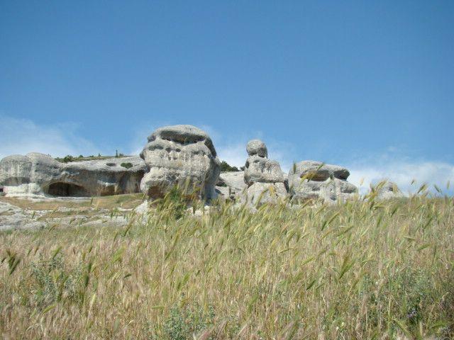 Zdjęcia: Bakczysaraj, Krym, sfinksy -2, UKRAINA