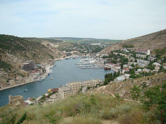 Zdjęcia: BAŁAKŁAWA, KRYM, Widok na zatokę ( ciut wyżej ), UKRAINA