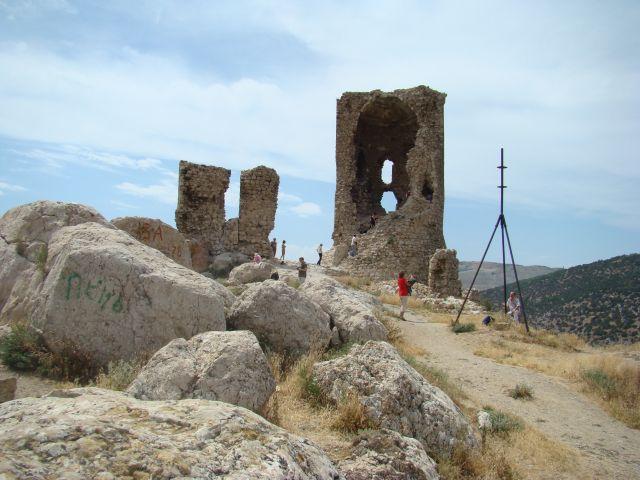 Zdjęcia: BAŁAKŁAWA, KRYM, Ruiny twierdzy Genueńskiej, UKRAINA