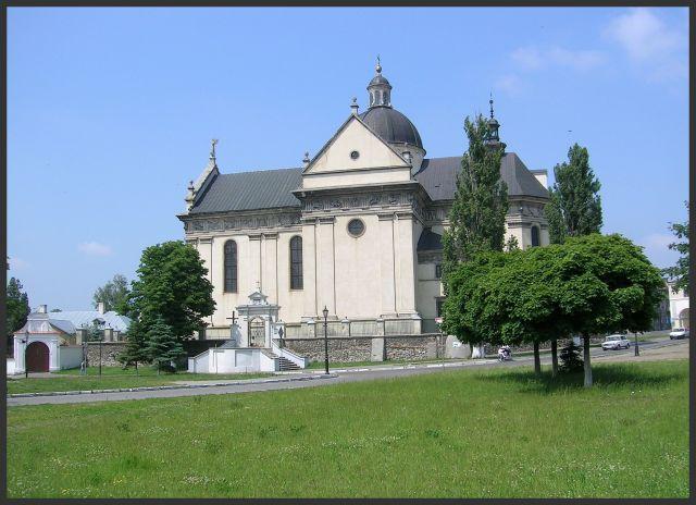 Zdjęcia: Żółkiew, Podole, Kościół w Żółkwi, UKRAINA