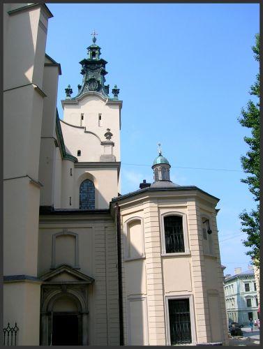 Zdjęcia: Lwów, K r e s y, Katedra Łacińska, UKRAINA