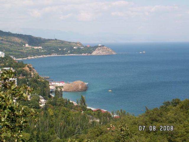 Zdjęcia: Partenit, Krym, Widok na zatokę w Partenicie, UKRAINA