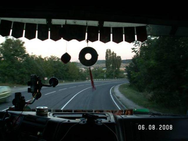Zdjęcia: Ałuszta, Krym, Tirem do Ałuszty, UKRAINA