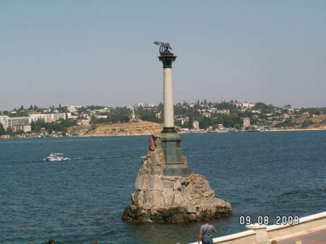 Zdjęcia: Sewastopol, Krym, Pomnik zatopionych okrętów, UKRAINA