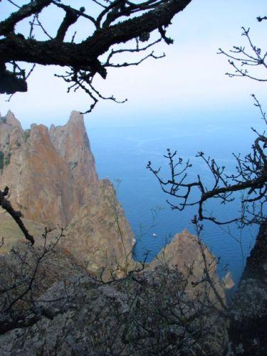 Zdjęcia: w górach pomiędzy Konstancją, a Koktebel, Rezerwat Kara - dag, UKRAINA