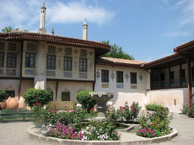 Zdjęcia: Bakczysaraj, Pałac Chanów, UKRAINA