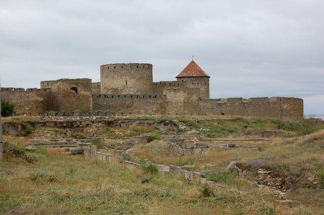 Zdj�cia: Bie�gorod Dniestrowski, Akerman i pozosta�o�ci greckiej koloni Tira, UKRAINA