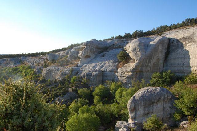 Zdjęcia: Bakczysaraj, Krym, Bakczysarajskie skałki, UKRAINA