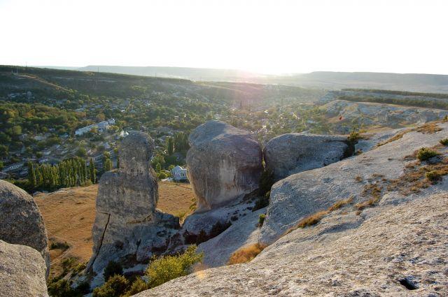 Zdjęcia: Bakczysaraj, Krym, Bakczysarajskie skałki - 2, UKRAINA
