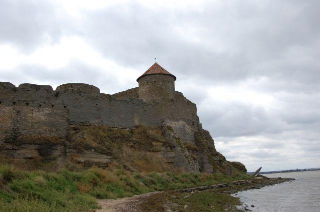 Zdjęcia: Biełgorod Dniestrowski, 70 km na południe od Odessy, Twierdza od strony limanu, UKRAINA