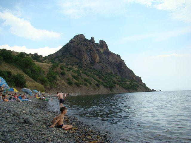 Zdjęcia: Biostancja, kRYM, Plaża w Biostancji, UKRAINA