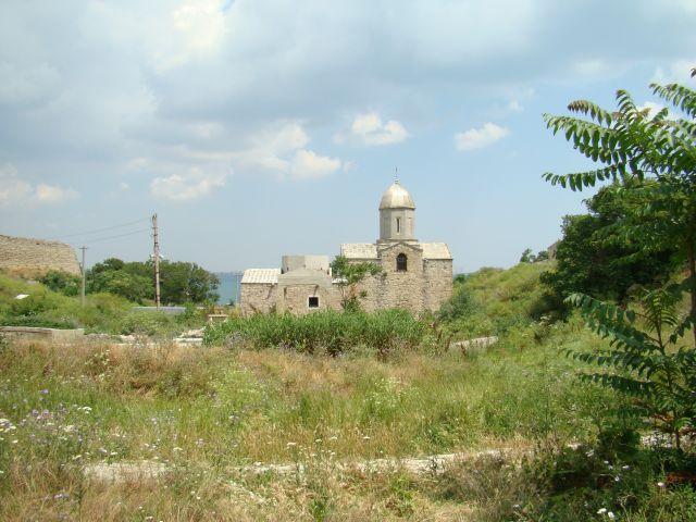 """Zdjęcia: Teodozja, kRYM, Kościół na """"świętej ziemi"""", UKRAINA"""