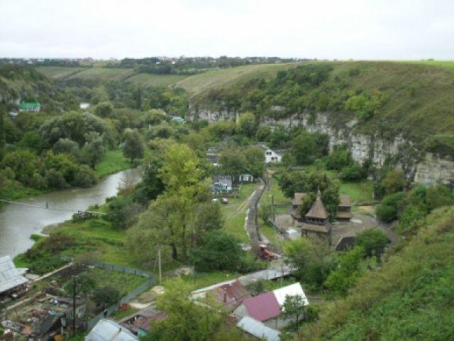 Zdjęcia: Zamek w Kamieńcu Podolskim, Kamieniec Podolski, widoczek z zamku w Kamieńcu Podolskim, UKRAINA