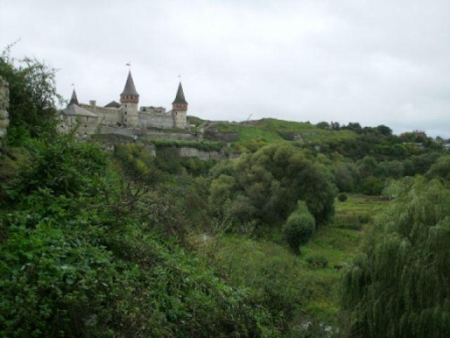 Zdjęcia: Zamek w Kamieńcu Podolskim, Kamieniec Podolski, zamek w jarze, UKRAINA