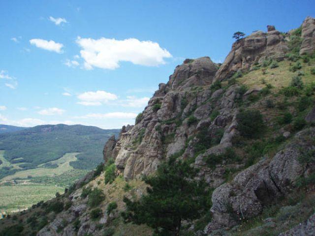 Zdjęcia: Demerdży, Krym, Dolina Przywidzeń, UKRAINA