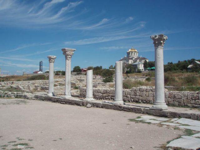 "Zdj�cia: Chersones, Krym, Troch� ""Grecji"", UKRAINA"