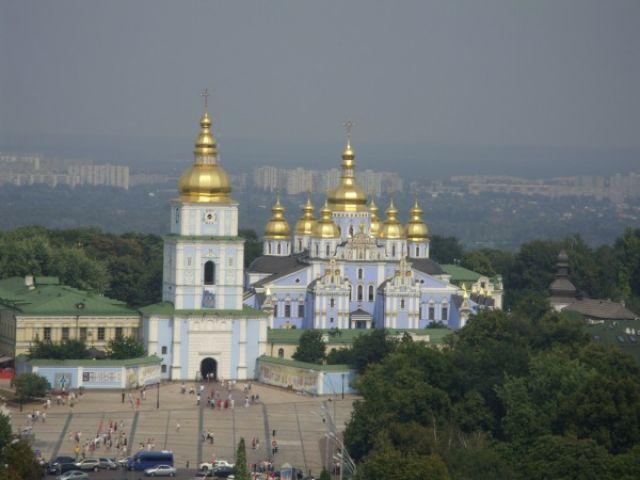 Zdjęcia: Kijów, Kijów, Cerkiew św. Michała 2, UKRAINA