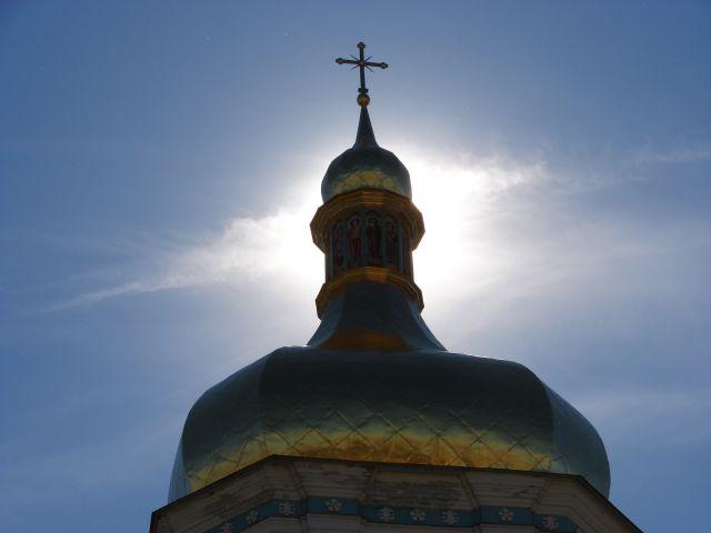 Zdjęcia: sobór św.Zofi, kijów, wieża soboru, UKRAINA