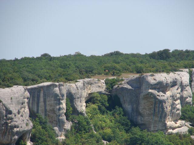 Zdjęcia: Krym, Krym, skalne miasto Eski Kermen, UKRAINA