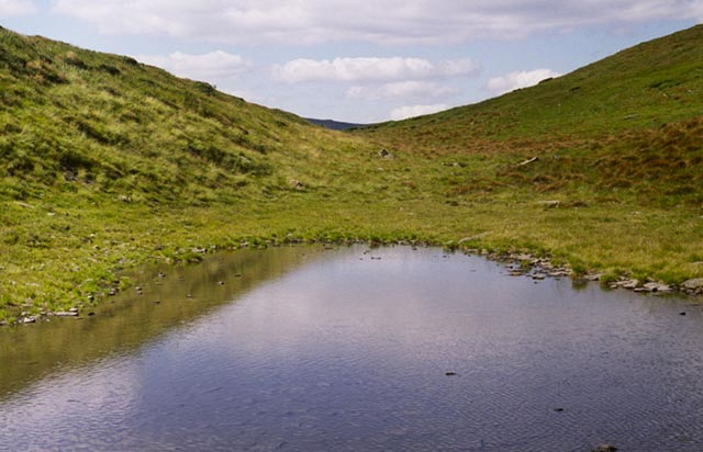 Zdjęcia: Czarnohora, okolice Popa Iwana, Jeziorko, UKRAINA