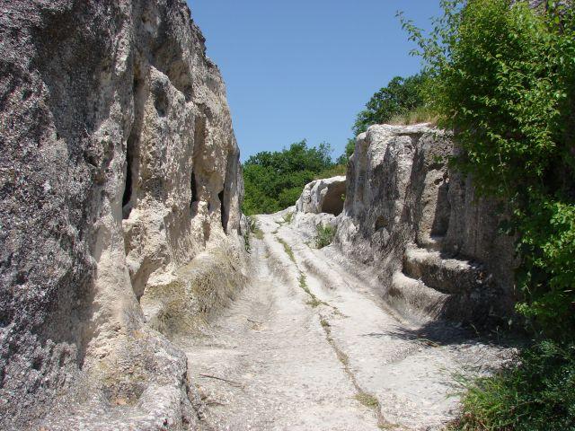 Zdjęcia: Eski Kermen, Krym, kamienne miasto, UKRAINA