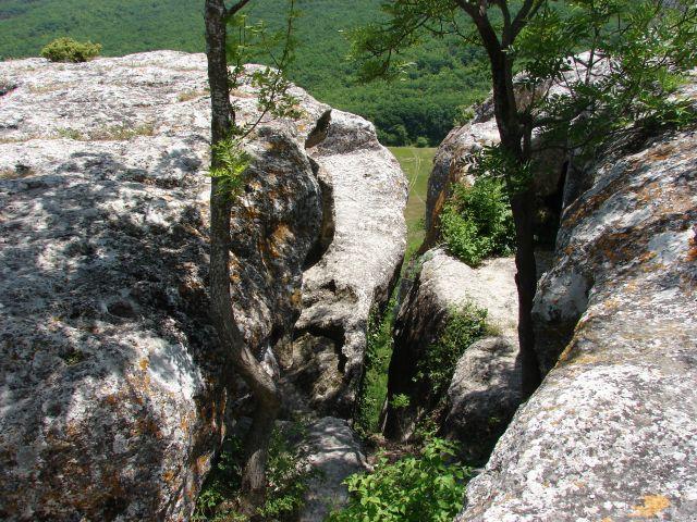 Zdjęcia: Eski Kermen, Krym, skalne miasto, UKRAINA