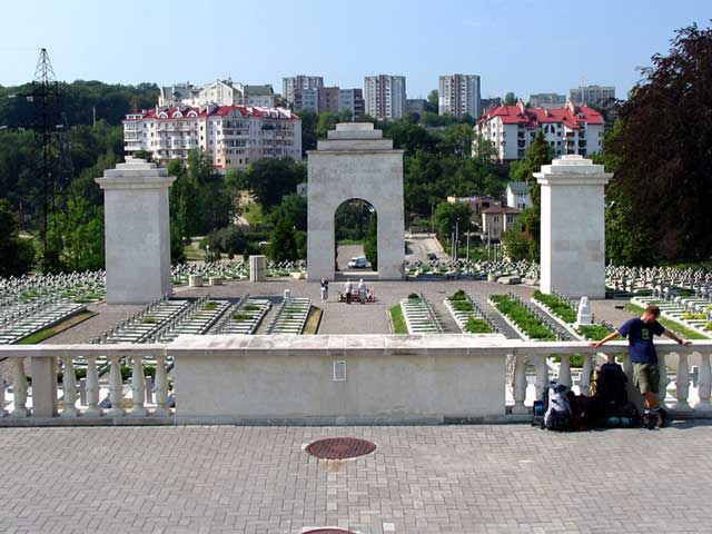 Zdj�cia: Lw�w, Ukraina, Cmentarz Orl�t Lwowskich, UKRAINA