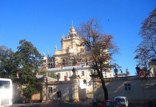 Zdjęcia: Lwów, Obwód Lwowski, Sobór św Jura, UKRAINA