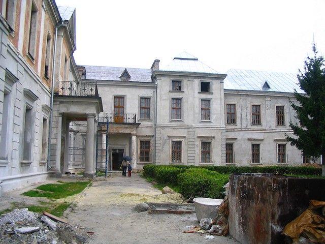 Zdjęcia: Wiśniowiec, Wołyń/ Podole, Pałac Wiśniowieckich, UKRAINA