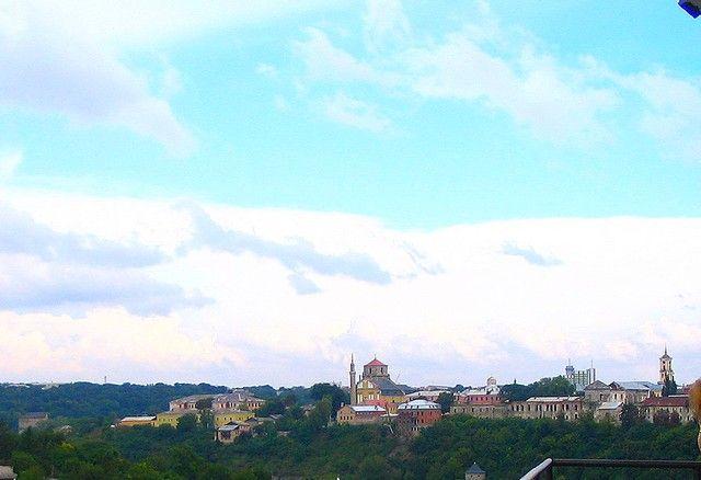 Zdjęcia: Kamieniec Podolski, Podole, Kamieniec Podolski  - Stare Miasto - widok z twierdzy, UKRAINA
