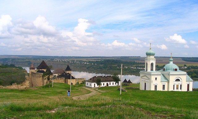 Zdjęcia: Chocim, Podole, Chocim -twierdza i cerkiew św Aleksandra Newskiego, UKRAINA