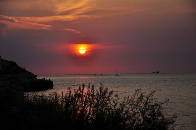 Zdjęcia: Sewastopol, Krym, Zachód słońca w Sewastopolu, UKRAINA