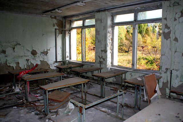 Zdjęcia: Prypeć, Prypeć - szkoła, UKRAINA