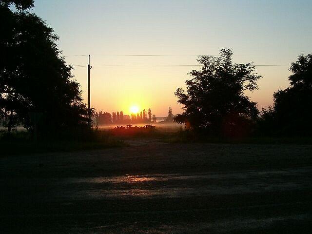 Zdjęcia: Cherson, Wschod slonca w Chersonie, UKRAINA