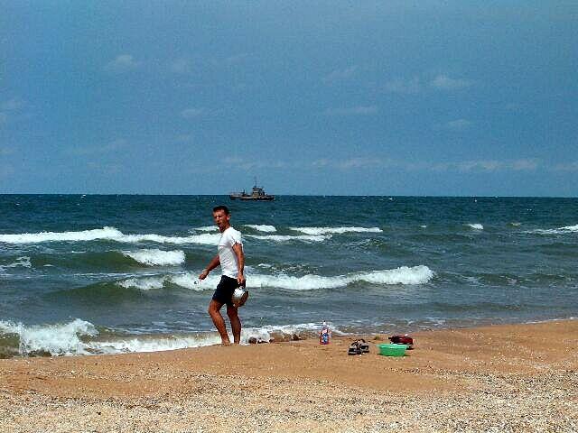Zdjęcia: Szolkino, Morze Azowskie, UKRAINA