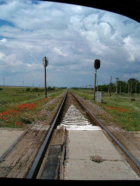 Zdjęcia: Krym, Tory po horyzont, UKRAINA