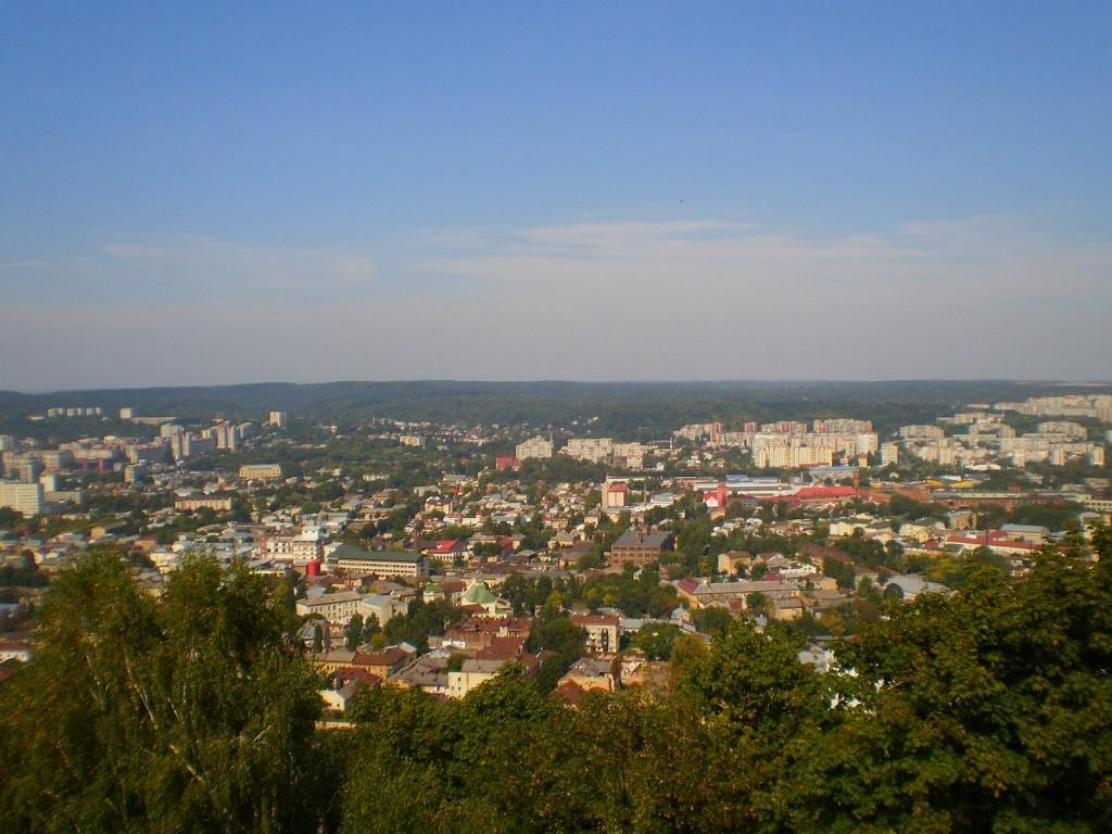 Zdjęcia: Lwów, lwowskie, miasto z Wysokiego Zamku, UKRAINA