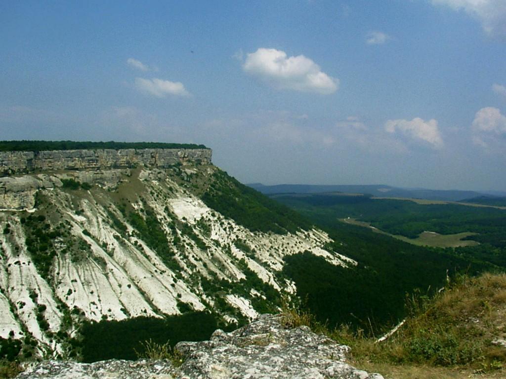 Zdj�cia: Krym, Krym, gory sto�owe, UKRAINA