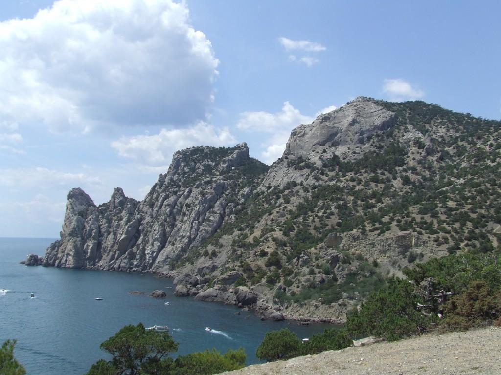 Zdjęcia: Nowy Świat, Krym, niebieska zatoka w rezerwacie, UKRAINA
