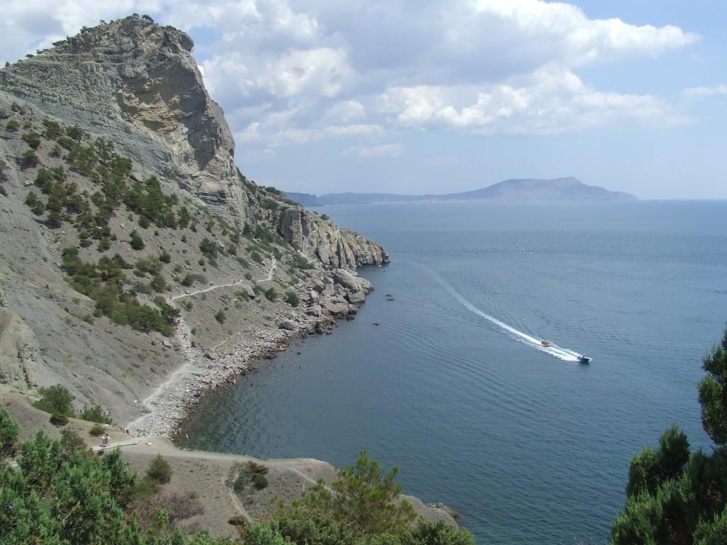 Zdjęcia: Nowy Świat, Krym, w zatoce, UKRAINA