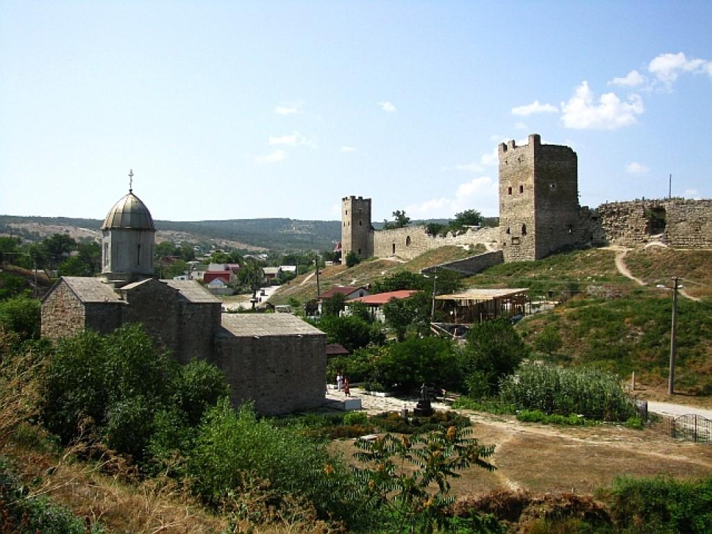 Zdjęcia: Teodozja, Krym, twierdza genueńska, UKRAINA