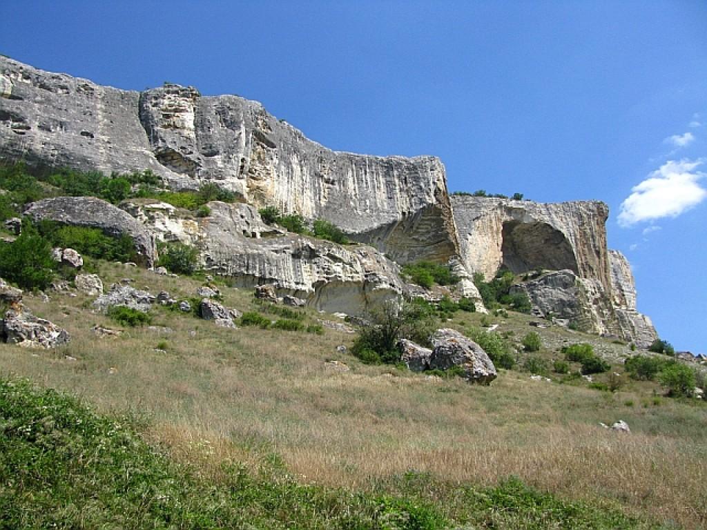 Zdjęcia: okolice Bakczysaraju, Krym, trekking do Kaczi-Kalon, UKRAINA