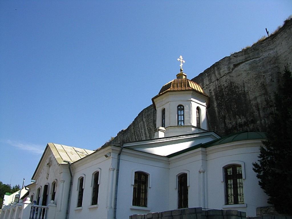 Zdjęcia: Inkerman, Krym, cerkiew św. Trójcy, UKRAINA
