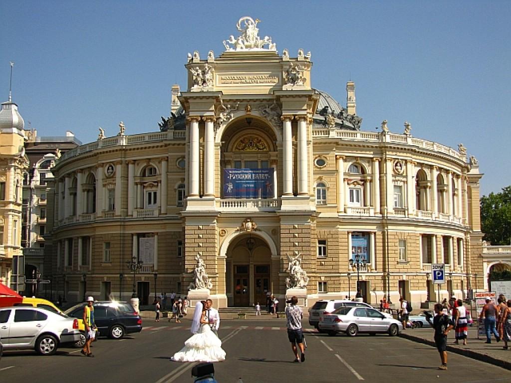 Zdjęcia: Odessa, Obwód Odeski, budynek opery odeskiej, UKRAINA